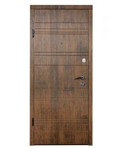 Дверь Входная модель М-2 старое дерево(МДФ/МДФ)   ТМ Медведь