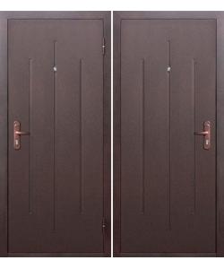 Дверь Входная  СтройГост 5-1 Метал/Метал эконом