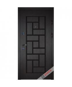 Входная Дверь Олди 402 темный орех Квартира Zimen