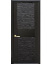 Межкомнатная дверь «Новый стиль» Аста Фортис De Luxe с черным стеклом