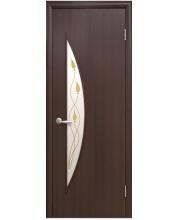 Межкомнатная дверь Новый Стиль Луна с рисунком коллекция Модерн