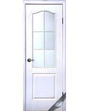 Межкомнатная дверь Новый Стиль Симпли под покраску со стеклом