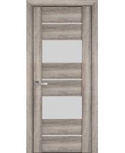 Дверь Новый Стиль  Аскона Бук Баварский со стеклом коллекция Вива
