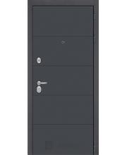 Входная дверь  Серая с покрытием Soft Touch