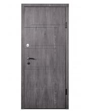Дверь Входная модель М-2 (МДФ/МДФ) Дуб шато/дуб пасадена  ТМ Медведь