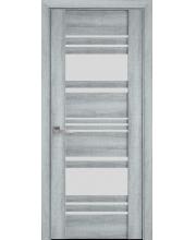 Дверь Новый Стиль  Ницца Бук Кашемир со стеклом коллекция Вива