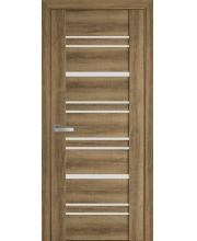 Дверь Новый Стиль  Валенсия Бук Шато со стеклом коллекция Вива
