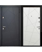 Входная Дверь Лайт Серая и Белая стандарт