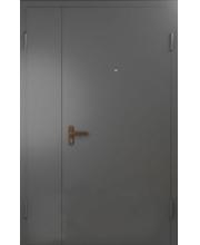 Дверь металлическая полуторная в подьезд