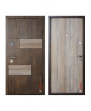 Дверь входная ТМ Zimen  Модель  Tango ( дуб антик )