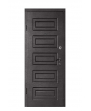 Дверь Входная М-2 венге темный горизонт/лиственница белая ТМ Медведь